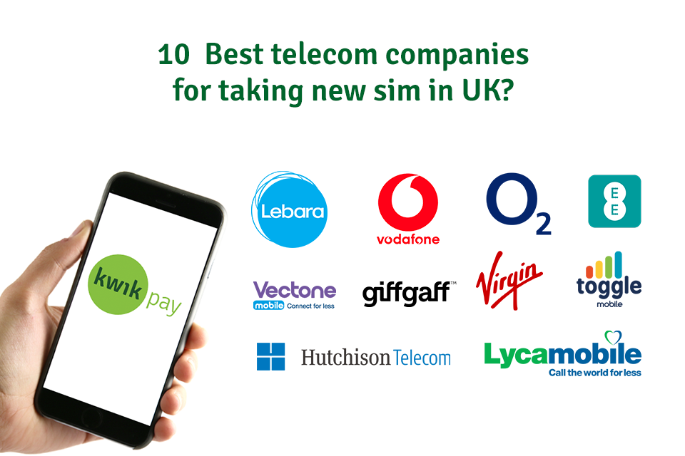 10 Best Telecom Companies For Taking New SIM In UK