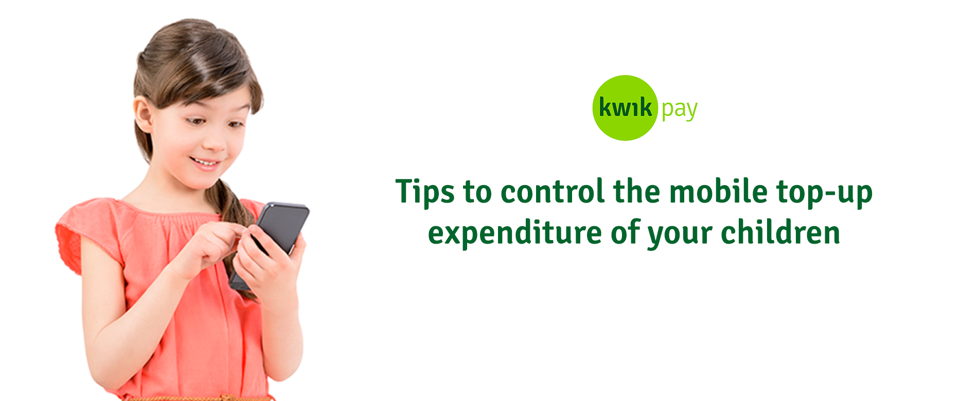 5 Important tips to control the mobile top-up expenditure of your Children