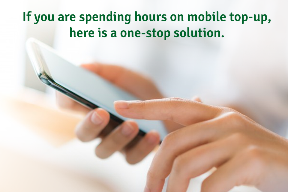 If you are spending hours of mobile top-up, here is a one-stop solution..